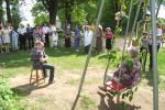 Bilžu galerija: Skolotājas Aloidas Baķes 75 gadu jubilejas svinības