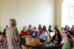 Bildes: Mātes diena Stelpes skolā 2014. gada 9. maijā