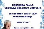 <strong>2015.12.30. &#8211; Aicinām pieteikties braucienam uz RAIMONDA PAULA koncertu</strong>