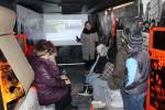 Barikāžu autobusa un Alvja Mačukāna izstādes apmeklējums