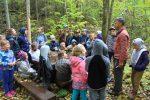 Skolēnu ekskursija uz ĒRGĻIEM, dabas takas ar MĀRI OLTI un Blaumaņa BRAKI