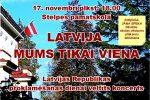 <strong>2016.11.17. &#8211; Koncerts LATVIJA MUMS TIKAI VIENA</strong>